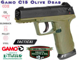 Pistol GAMO PT-80 TACTICAL CO2