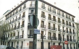 BUILDING RENOVATION IN MADRID