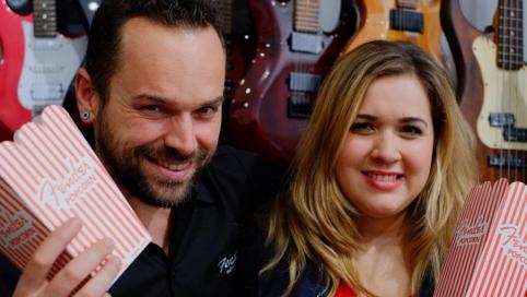 Melisa y Danny de Fender España