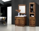 Mueble de baño rustico