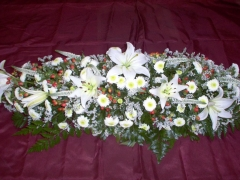 ARRANGEMENT FOR BRIDE`S CAR N#1