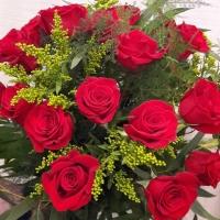 24 RED ROSES ARRANGEMENT