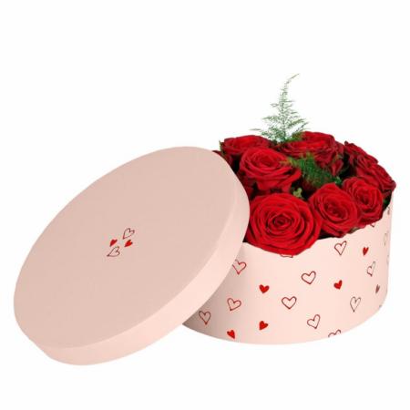 LOVELY ROSES HAT BOX