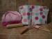 Miniamo. Set 6 piezas reposteria infantil rosa.