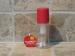 Aceitera pulverizador spray rojo.