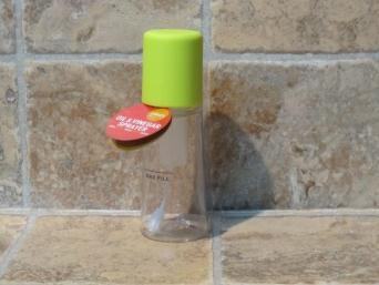Aceitera pulverizador spray verde.