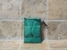 Bolsa compra Kitchen Craft verde plegable.