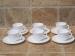 Arcopal taza de café con plato 6 unidades de cada.