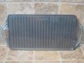 Asadora Garcima plancha hierro fundido rectangular 24 x 44 cm