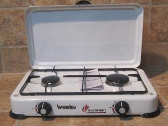 Cocina dos fuegos para conexi n gas esmaltada for Cocina de gas de dos fuegos