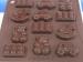 Molde Pavoni bombones toys silicona
