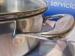 Cacerola Inoxibar OLIMPIA inoxidable con tapadera de cristal  16 cms