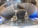 Olla Inoxibar OLIMPIA  inoxidable con tapadera de cristal 16 cms