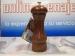 Molinillo de pimienta madera caoba molino acero templado 15 cm