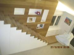 Escaleras de iroko