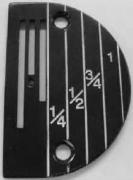 Placa de aguja
