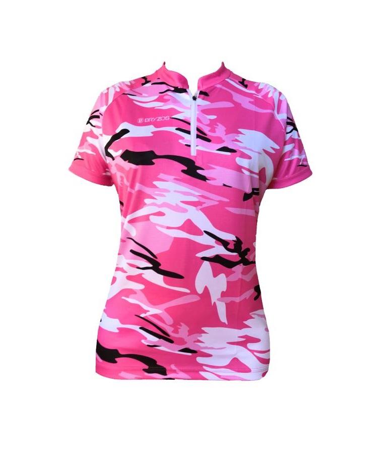 Bryzos O-Top Camo pink
