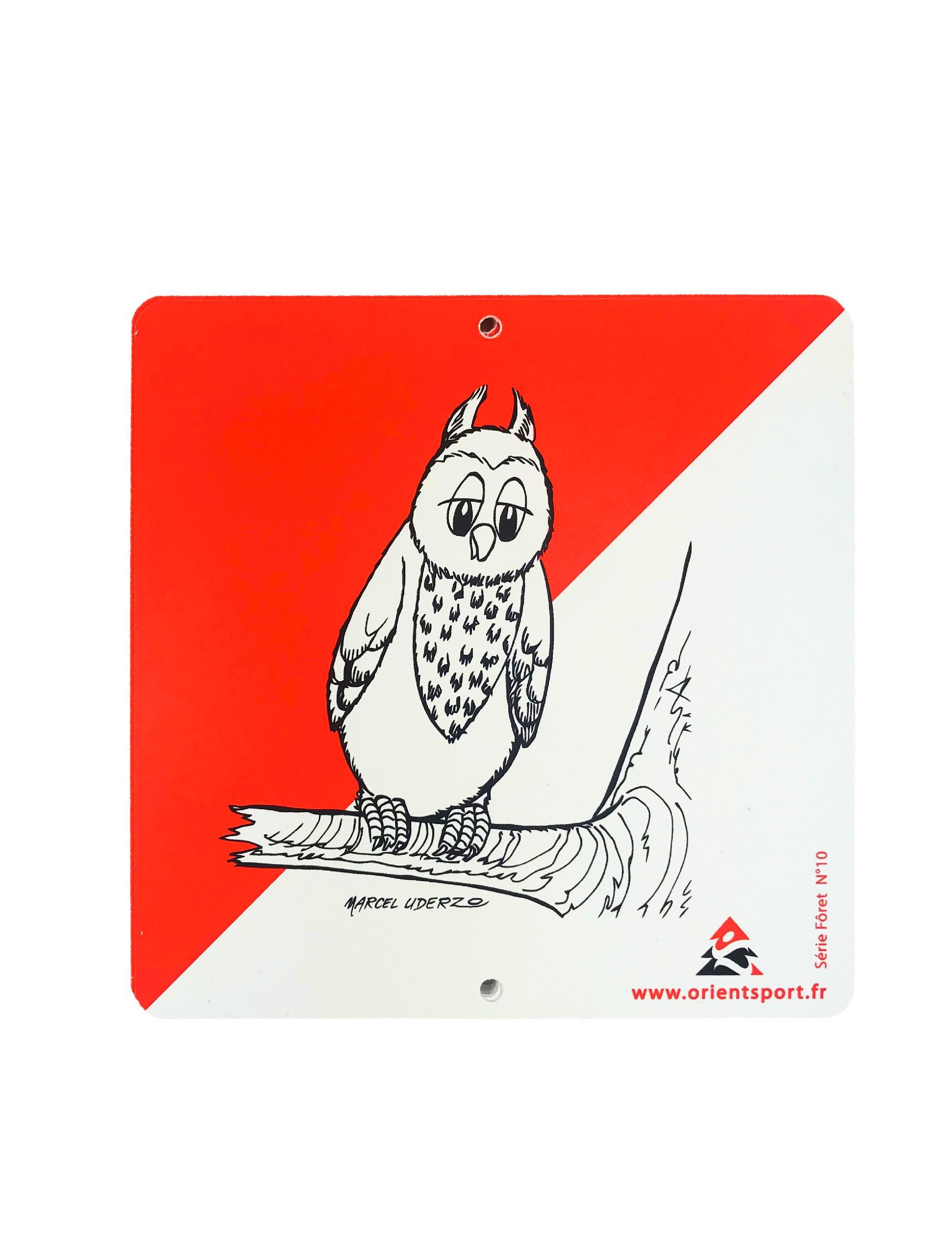 Orientsport Set 10 Plastic Markers 15x15 - ANIMALS