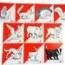 BALIZA PLASTIFICADA 15X15  DE ANIMALES