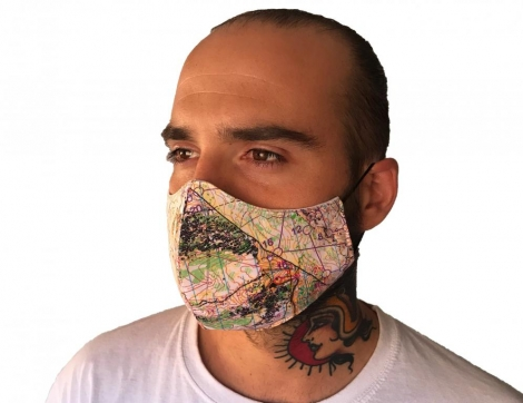 Face Mask Map