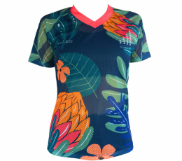 CAMISETA BRYZOS TROPICAL CALADA