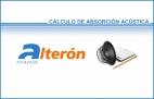 - Calculo de absorción acústica