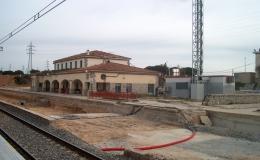 Estación de Renfe El Goloso (España)