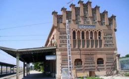 Remodelación de la estación de Algodor en Toledo (España)