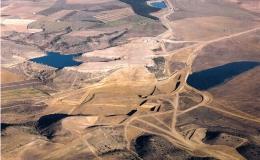 Proyecto del embalse de San Salvador en Huesca (España)