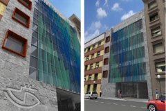Sede de la dirección provincial del Instituto Social de la Marina en Gijón (España)
