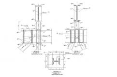 Estructura metálica de rampa de descarga