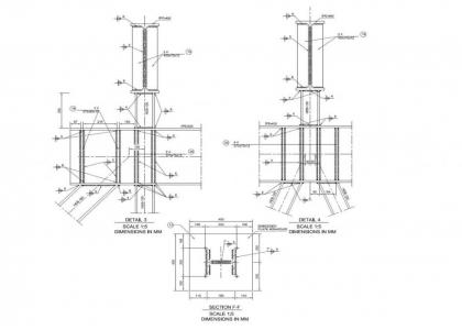 Estructura Metálica De Rampa De Descarga Gabinete De