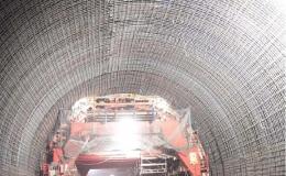 Refuerzo en el túnel de Lilla. Tramo Lleida-Martorell (España)