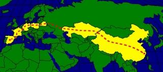 Primer viaje del tren de mercancías directo China – España