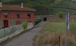 Construcción de paso inferior de la Carretera N-630. Pola de Gordón, León (España)