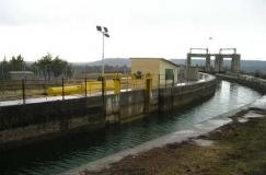 Ampliación de la capacidad de transporte del canal de Cinca en Huesca (España)