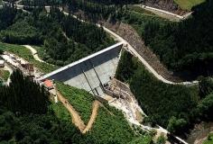 Proyecto de construcción de la presa de Ibiur (España)