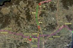 Proyecto constructivo de las arterias generales de la desalinizadora a las redes de distribución en la isla de Ibiza (España)