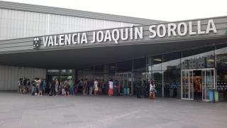La estación del AVE en Valencia será el centro de operaciones del corredor ferroviario mediterráneo