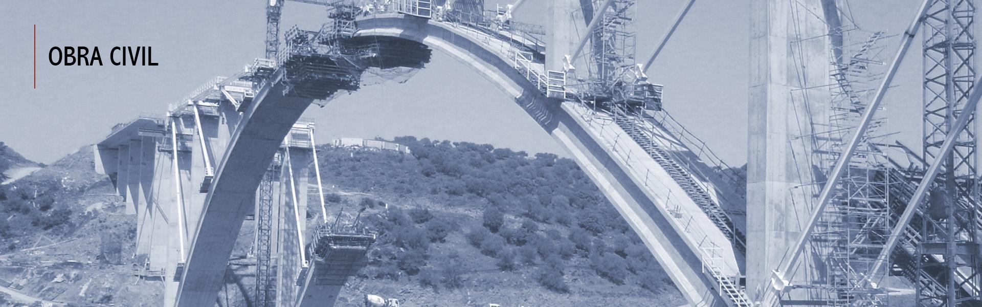 Cáceres - Viaducto sobre el río Almonte
