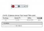 anclaje de expasion CH-PL M10x100mm D12 para barandillas de acero inoxidable