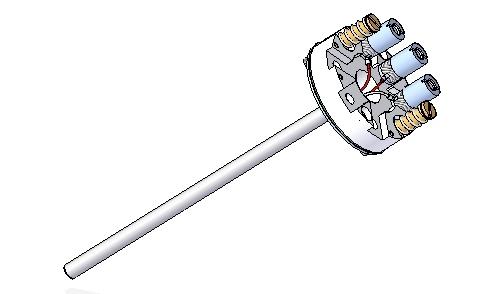 Repuesto elemento desmontable para sensor R01-2