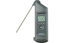Termometro de mano con termopar tipo K
