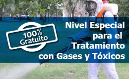 Curso Nivel Especial para el Tratamiento con Gases y Tóxicos