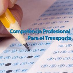 CONSEJERIA DE FOMENTO - Competencia profesional para el Transporte.