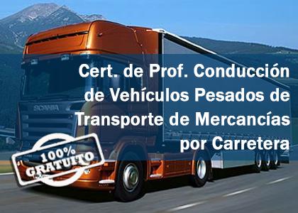 certificado de profesionalidad  vehiculos pesados de transporte de mercancias por carretera