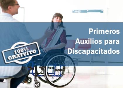 PRIMEROS AUXILIOS PARA DISCAPACITADOS GRATIS GRATUITO CURSO