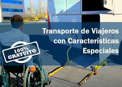 curso transporte viajeros caracteristicas especiales