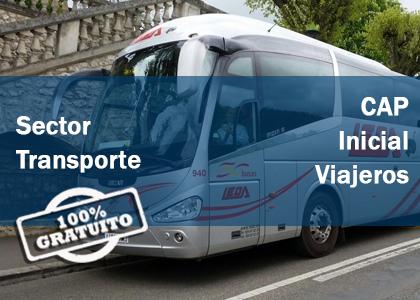 cap inicial viajeros gratis gratuito sector viajeros