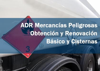 adr mercancias peligrosas renovacion autoescuela tajo b+c cisterna